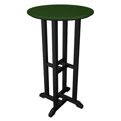 Contempo Bar Table Finish: Black & Green