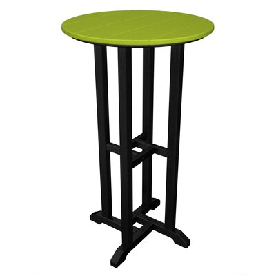 Contempo Bar Table Finish: Black & Lime