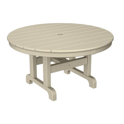 Round Conversation Coffee Table Finish: Sand, Table Size: 48