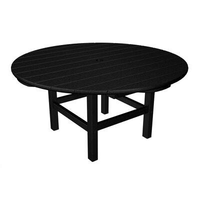 Round Conversation Table Finish: Black