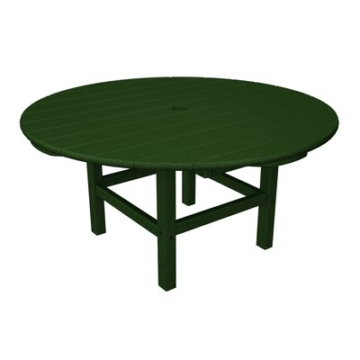 Round Conversation Table Finish: Green