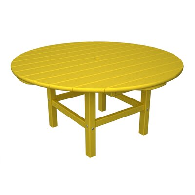 Round Conversation Table Finish: Lemon