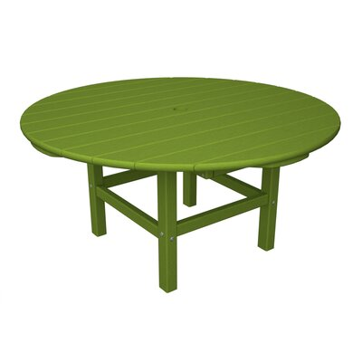 Round Conversation Table Finish: Lime