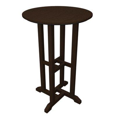 Traditional Bar Table Finish: Mahogany