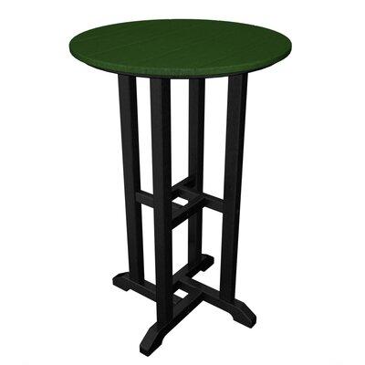 Contempo Bar Table Finish: Black & Green