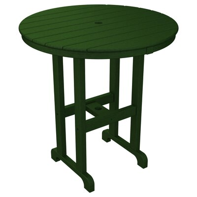 La Casa Caf� Bar Table Table Size: 36, Finish: Green