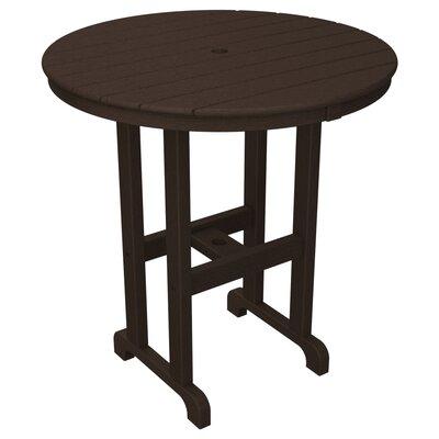 La Casa Caf� Bar Table Table Size: 36, Finish: Mahogany