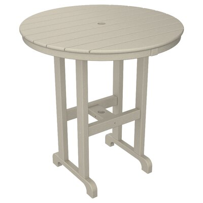 La Casa Caf� Bar Table Table Size: 36, Finish: White