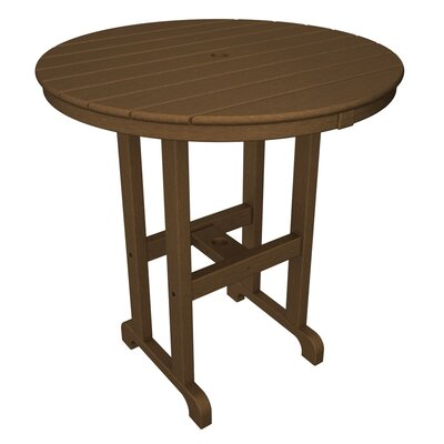 La Casa Caf� Bar Table Table Size: 36, Finish: Teak