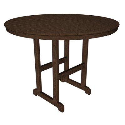 La Casa Caf� Bar Table Finish: Mahogany, Table Size: 48