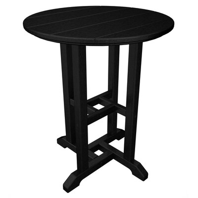 Traditional Dining Table Finish: Black