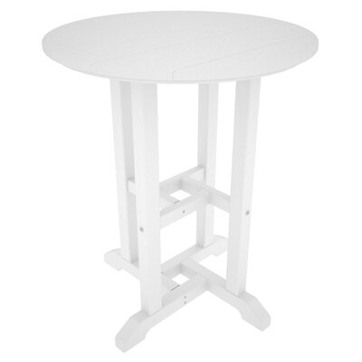Traditional Dining Table Finish: White