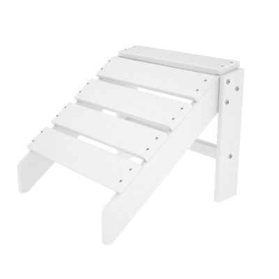 South Beach Ottoman Finish: White