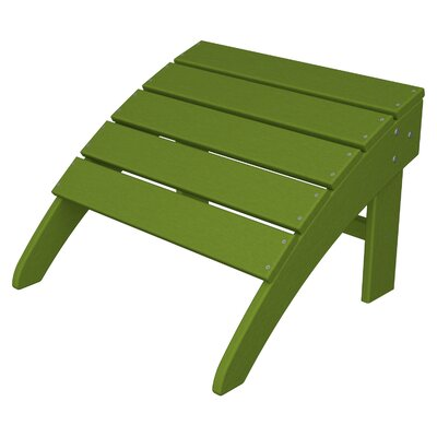 South Beach Adirondack Ottoman Finish: Lime