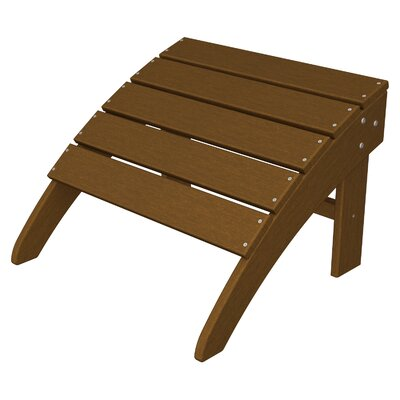 South Beach Adirondack Ottoman Finish: Teak