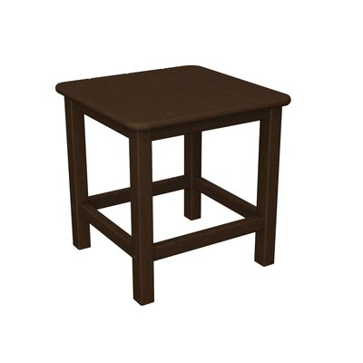 Seashell Adirondack Side Table Finish: Mahogany
