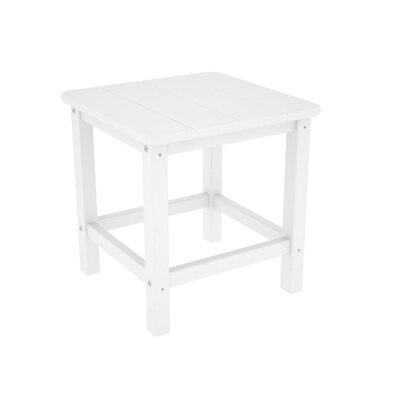 Adirondack Side Table Finish: White