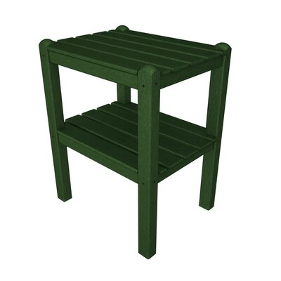 12 Shelf Side Table Finish: Hunter Green