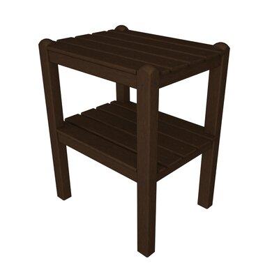 12 Shelf Side Table Finish: Mahogany