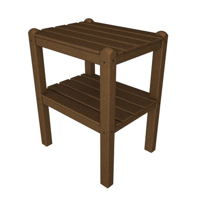 12 Shelf Side Table Finish: Dark Teak