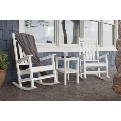 Presidential 3 Piece Rocker Set Finish: White