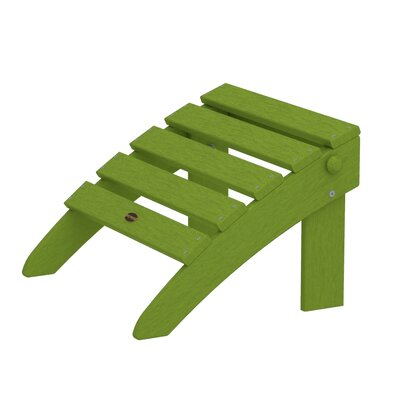 Adirondack Ottoman Finish: Lime