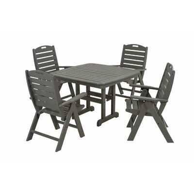 Nautical Dining Set Slate Grey - Product photo