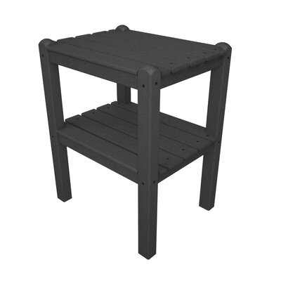 12 Shelf Side Table Finish: Slate Grey