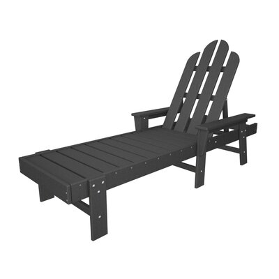 Long Island Chaise Lounge Finish: Slate Grey