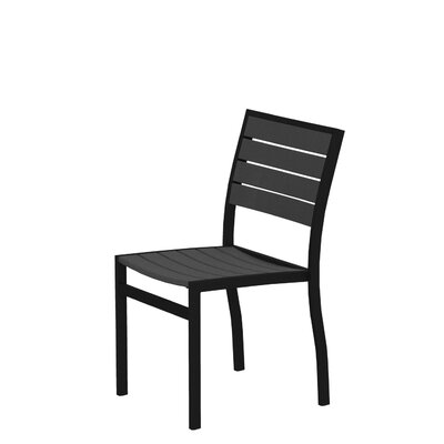 POLYWOOD Euro Stacking Patio Dining Chair