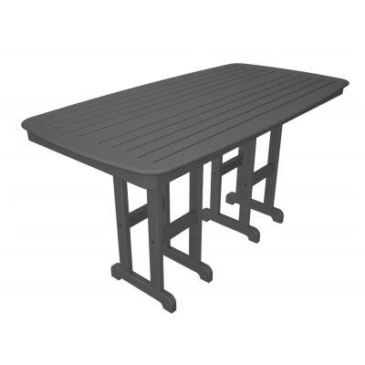 Nautical Bar Table Finish: Slate Grey