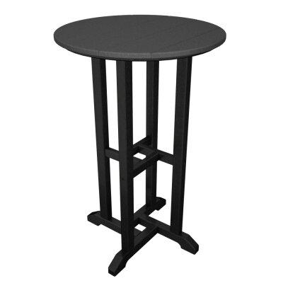 Contempo Bar Table Finish: Black Frame / Slate Grey