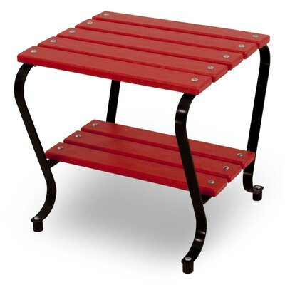 Polywood Ivy Terrace Side Table - Color: Black/Sunset Red at Sears.com