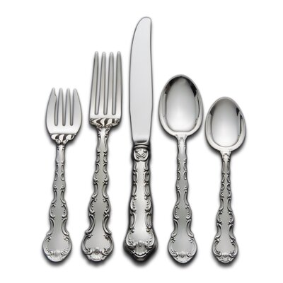 Strasbourg 5 Piece Dinner Flatware Set with Place Soup