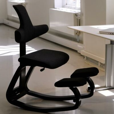 Thatsit Balans Side Chair Frame Finish Finish: Black, Color: Onyx Black Product Image 5839