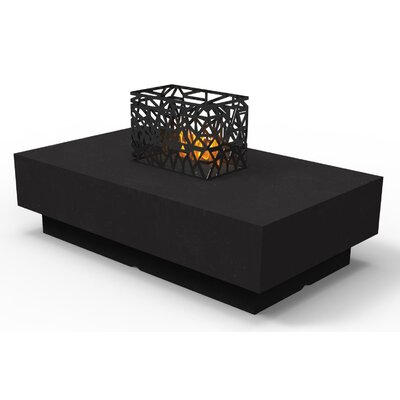 Indoor Furniture Coffee Table Color: Black