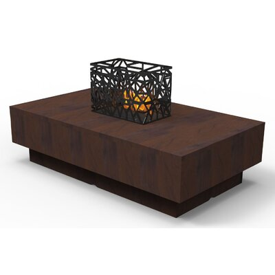 Indoor Furniture Coffee Table Color: Brown Pearwood