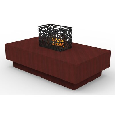Indoor Furniture Coffee Table Color: Wild Cherry