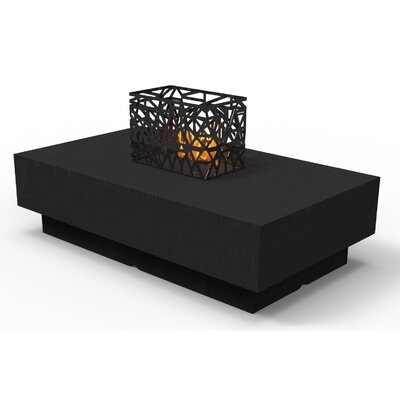 Indoor Furniture Coffee Table Color: Black Woodgrain