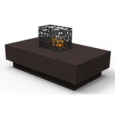Indoor Furniture Coffee Table Color: Chocolate