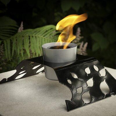 Aspen Steel Gel / Bio Ethanol Tabletop Fireplace