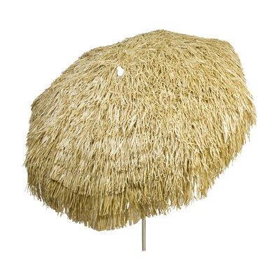 6 Palapa Market Umbrella Fabric: Brown