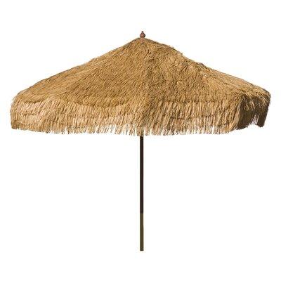 9 Palapa Market Umbrella Fabric: Whiskey