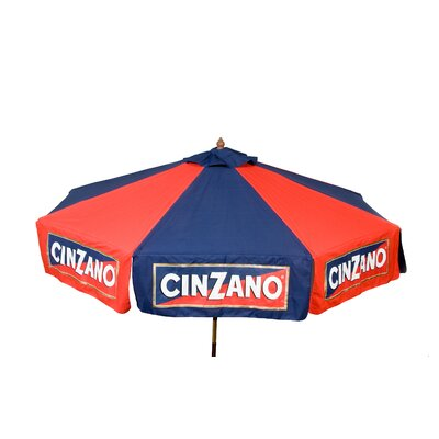 9 Cinzano Drape Umbrella
