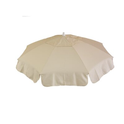 6 Italian Drape Umbrella Fabric: Natural