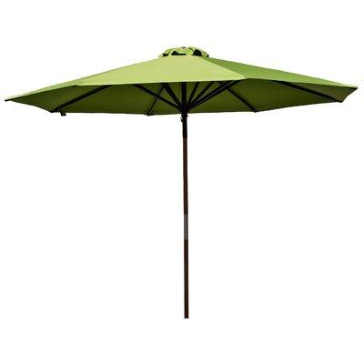 9 Market Umbrella Fabric: Lime