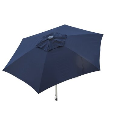 8.5' Market Umbrella Color: Navy Blue