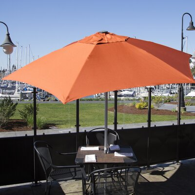 8.5' Market Umbrella Color: Terra Cotta