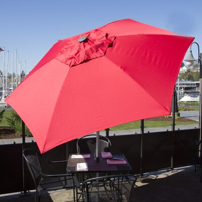 8.5 Market Umbrella Color: Red