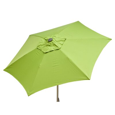 8.5' Market Umbrella Color: Lime